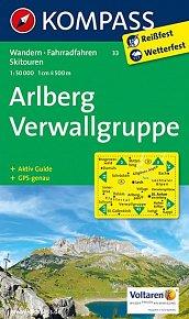Arlberg - Verwallgruppe 33   NKOM