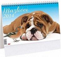 Mazlíčci 2014 - stolní kalendář