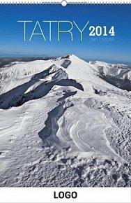 Tatry - nástěnný kalendář 2014