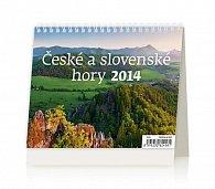Kalendář 2014 - MiniMax České a slovenské hory - stolní