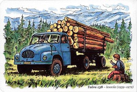 Náhled Československá nákladní auta