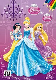 Disney princezny - Omalovánka A5