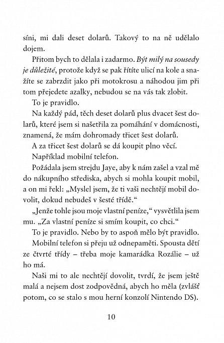 Náhled Holčičí pravidla 6: Allie Finklová - Návštěva z minulosti