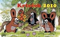 Krteček 2010 - stolní kalendář