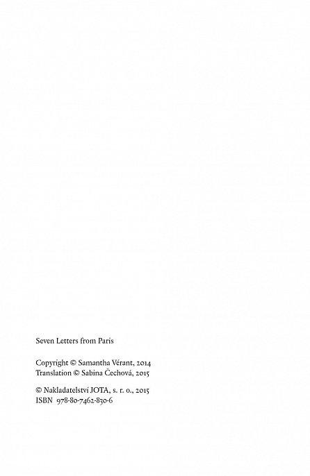 Náhled Sedm dopisů z Paříže