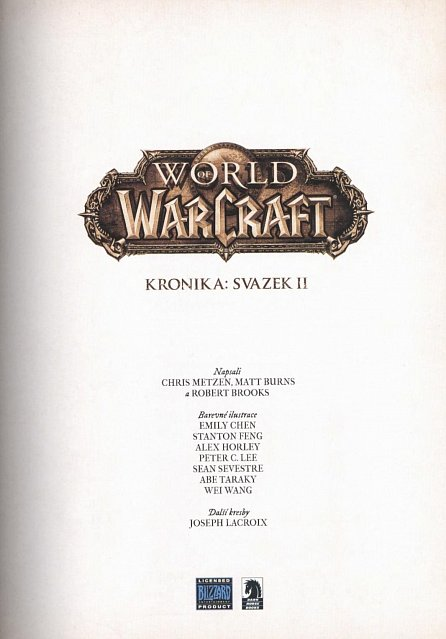 Náhled World of WarCraft - Kronika 2