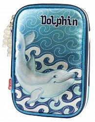 Penál Delfín patrový s překlápěním