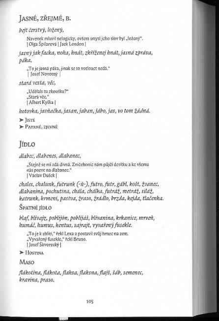 Náhled Šmírbuch jazyka českého - Slovník nekonvenční češtiny 1945-1989
