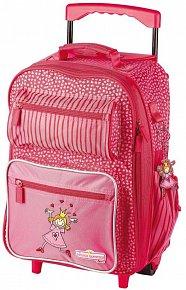 Cestovní kufr  (40x30x17 cm) Princezna PINKY QUEENY
