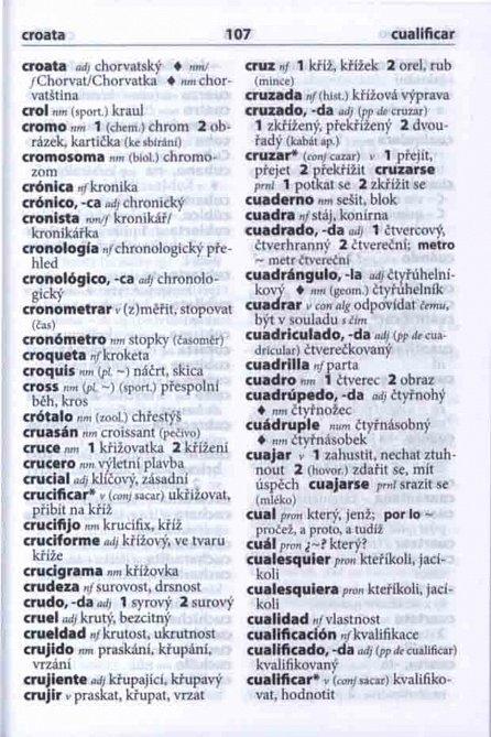 Náhled Španělsko-český, česko-španělský kapesní slovník ...nejen na cesty