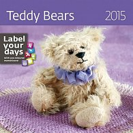 Kalendář nástěnný 2015 - Teddy Bears
