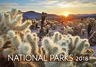 Kalendář nástěnný 2018 - National Parks 450x315