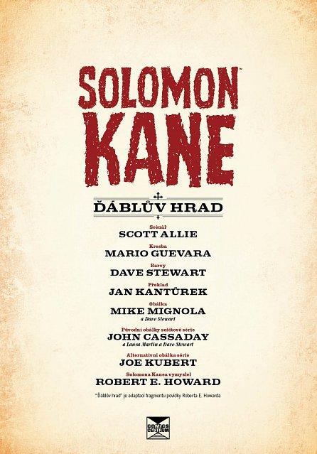 Náhled Solomon Kane 1 - Ďáblův hrad - váz.