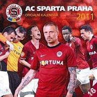 Kalendář 2011 - AC Sparta Praha (30x60) nástěnný poznámkový