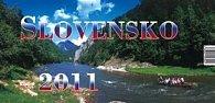 Slovensko 2011 - stolový kalendár