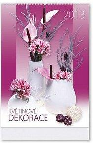 Květinové dekorace 2013 - nástěnný kalendář
