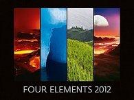 Kalendář nástěnný 2012 - Four Elements