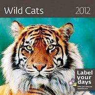 Kalendář nástěnný 2012 - Wild Cats