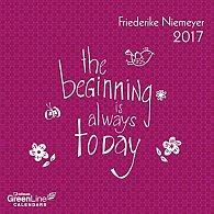 Kalendář GreenLine Friederike Niemeyer 2017 (17.5 x 17.5 cm)