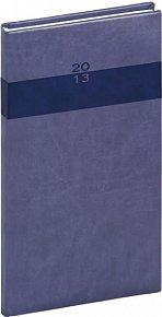 Diář 2013 - Aprint - Kapesní Praktik, středně modrá, 9 x 15,5 cm