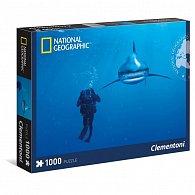Puzzle National Geographic 1000 dílků Bílý žralok