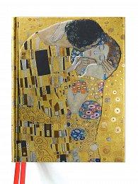 Skicář / zápisník Gustav Klimt - The Kiss