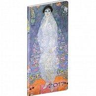 Diář 2017 - Klimt - kapesní/plánovací měsíční