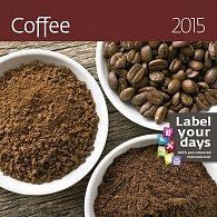 Kalendář nástěnný 2015 - Coffee