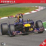 Kalendář nástěnný 2012 - Formule Jiří Křenek, 30 x 60 cm