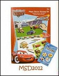 Omalovánky Disney cars + pastelky zdarma