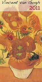 Kalendář 2011 - Vincent van Gogh (20x42) nástěnný