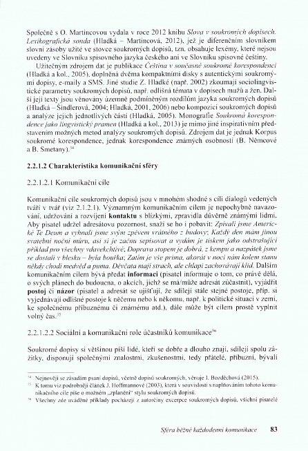 Náhled Stylistika mluvené a psané češtiny