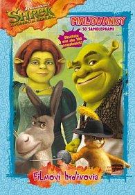 Shrek 4 Maľovanky so samolepkami