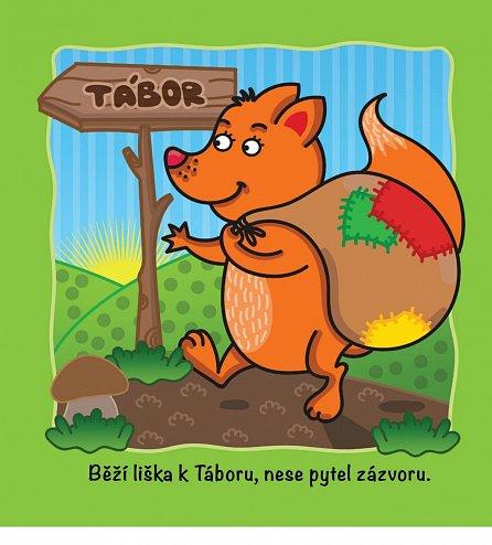 Náhled Obrázkové písničky: Šla Nanynka do zelí, Běží liška k Táboru