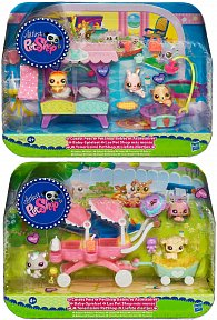 Littlest Pet Shop 3 miminka s doplňky