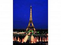 1000 Neonová Eiffelova věž, Paříž