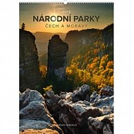 Kalendář nástěnný 2016 - Národní parky Čech a Moravy - s českými jmény - Zdeněk Ondruš,  33 x 46 cm