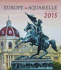 Kalendář nástěnný 2015 - Europe in Aquarelle