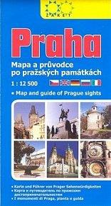 Praha Mapa a průvodce po pražských památkách