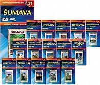 Krásy Čech, Moravy a Slezska 2 - 16 DVD