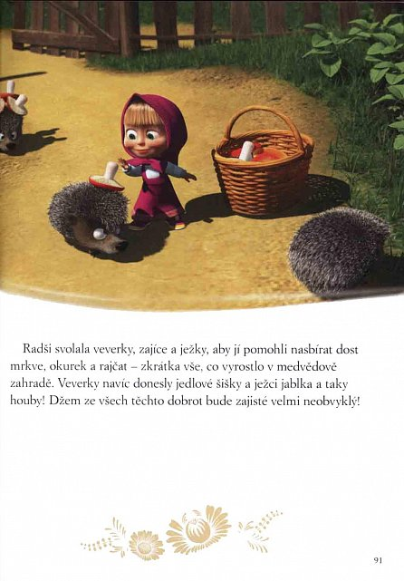 Náhled Máša a medvěd - Zlatá kniha pohádek
