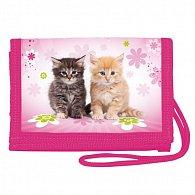 Peněženka na krk - Cats