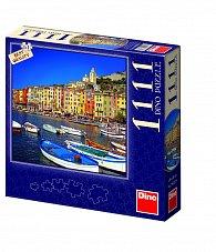 Puzzle 1111 dílků Italský přístav