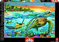 Puzzle Želvy v moři 500 dílků