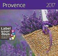Kalendář nástěnný 2017 - Provence 300x300cm