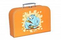 Kufřík Příšerka oranžový 30 cm