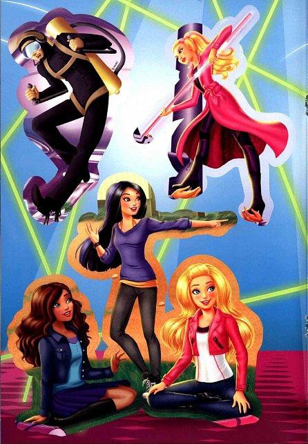 Náhled Barbie Tajná agentka - Filmový příběh - Vybarvuj, čti si, nalepuj