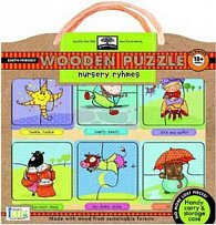 Nursery Rhymes Wooden Puzzle