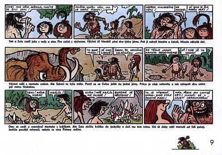Náhled Sek a Zula - Pravěk ve slavném komiksu pro děti