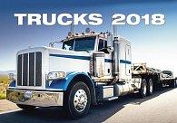Kalendář nástěnný 2018 - Trucks